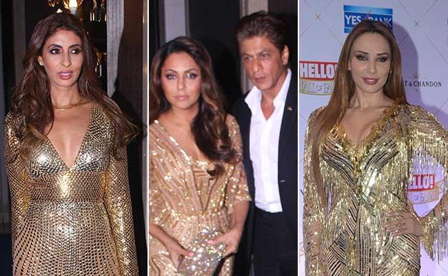 The Gold Gown-Off: Shweta Bachchan Vs Gauri Khan Vs Iulia Vantur