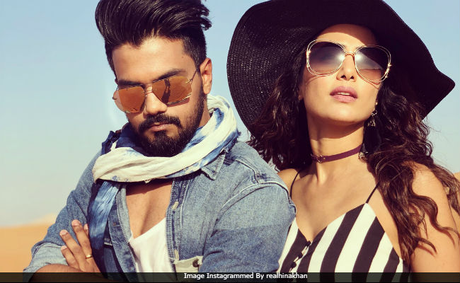 What Hina Khan And Boyfriend Rocky Are Doing In Dubai
