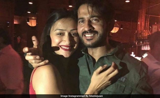 Inside Bigg Boss 11's Hiten Tejwani's Birthday Party With Wife Gauri