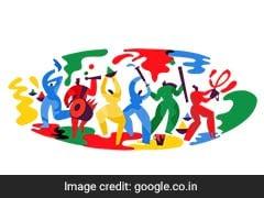 Google ने Doodle के जरिए भारत वासियों को दिया Happy Holi 2018 का संदेश
