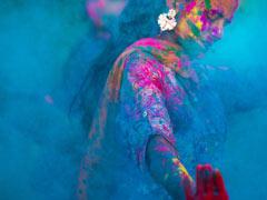गानों और गुलाल के साथ धूमधाम से मनाई गई रंगपंचमी