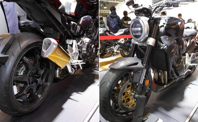 The One Off Carbon Fibre Honda CB1000R Is A Custom Build