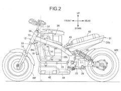 Honda Files Patent For Hydrogen Fuel Powered Motorcycle