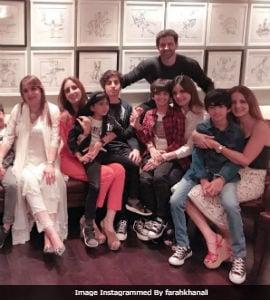 Hrithik Roshan And Sussanne Khan Celebrate Son Hrehaan's