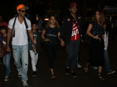 Guess Who Wasn't In Sussanne Khan's Holiday Pics But Was At Airport? Hrithik Roshan