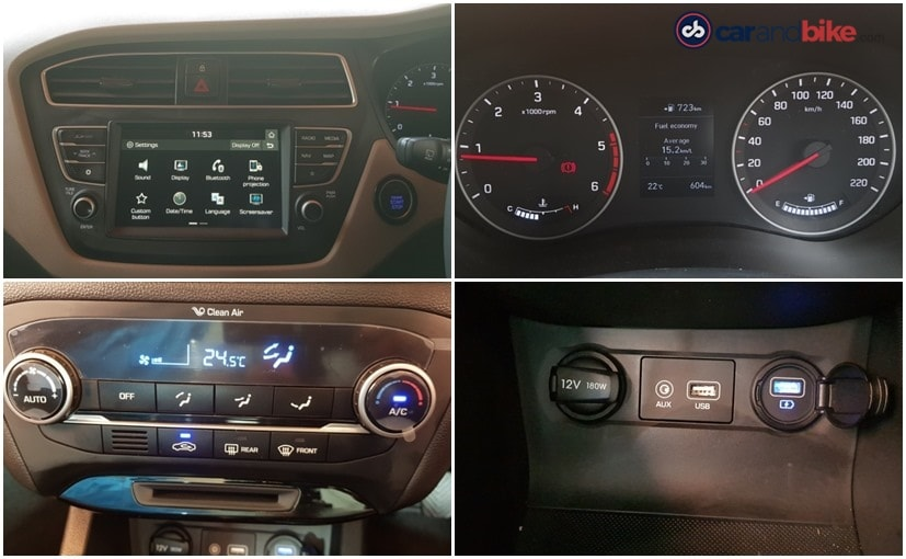 hyundai i20 facelift gets new infotainment system