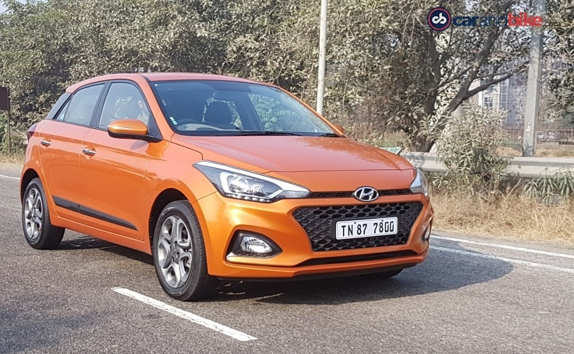 2018 Hyundai I20 Cvt Automatic Launched In India Prices Start At Rs