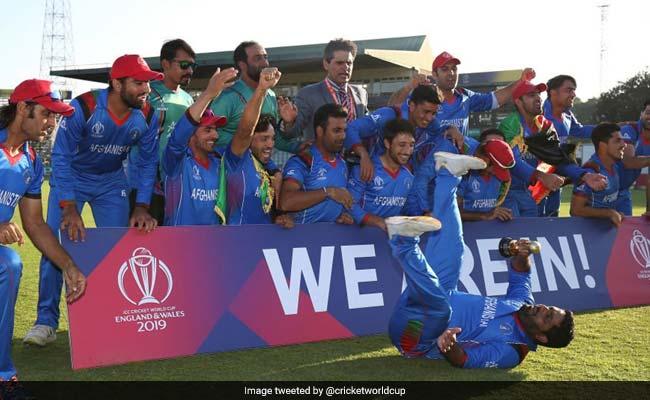 ICC World Cup Qualifiers 2018: क्वालीफाई करने के बाद अफगानिस्तान ने ड्रेसिंग रूम में ऐसे मनाया जश्न