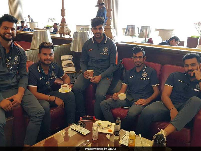 Nidahas Trophy 2018: Rohit Sharma-Led Team India Off To Sri Lanka For Tri-Series. See Pics