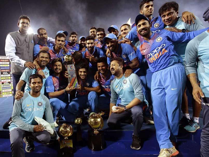 Nidahas Trophy Final, India vs Bangladesh: Dinesh Karthik's Last Ball Six Helps India Beat Bangladesh, Clinch Title
