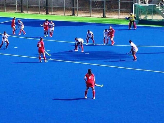 Dominant India Womens Hockey Team Beat South Korea 3-0 In Fourth Match Of Korea Tour