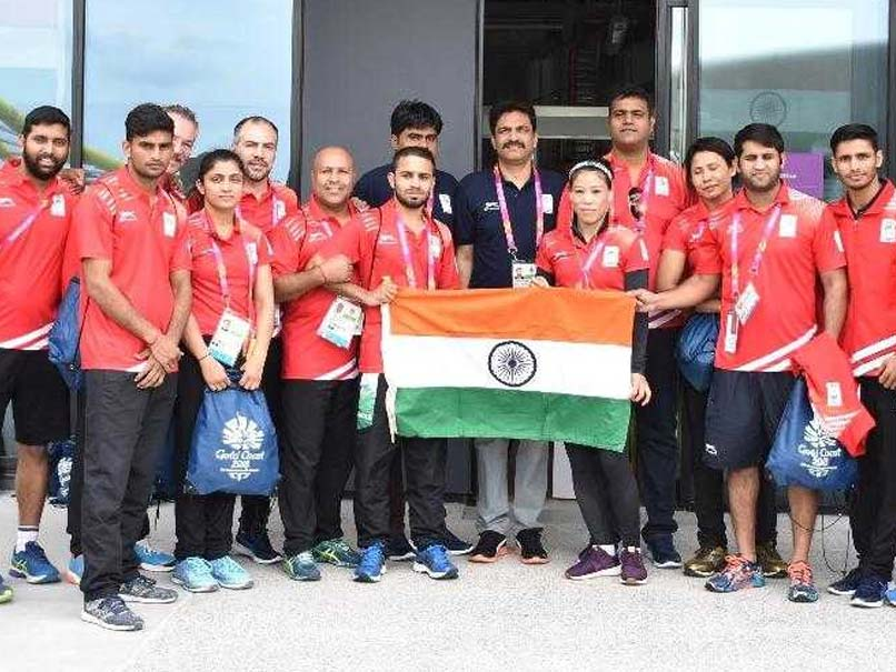 Indian Contingent Arrives At Gold Coast For Commonwealth Games
