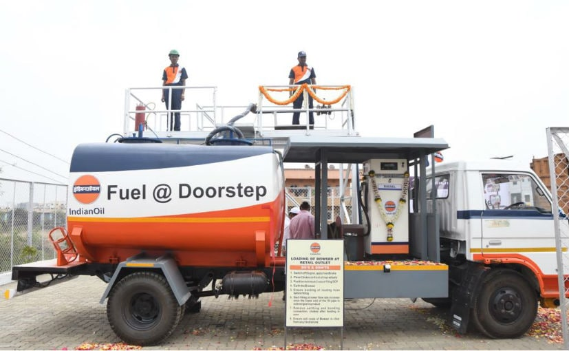 Like Pizza, now get diesel at home