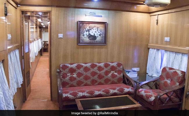 indian railways saloon coach
