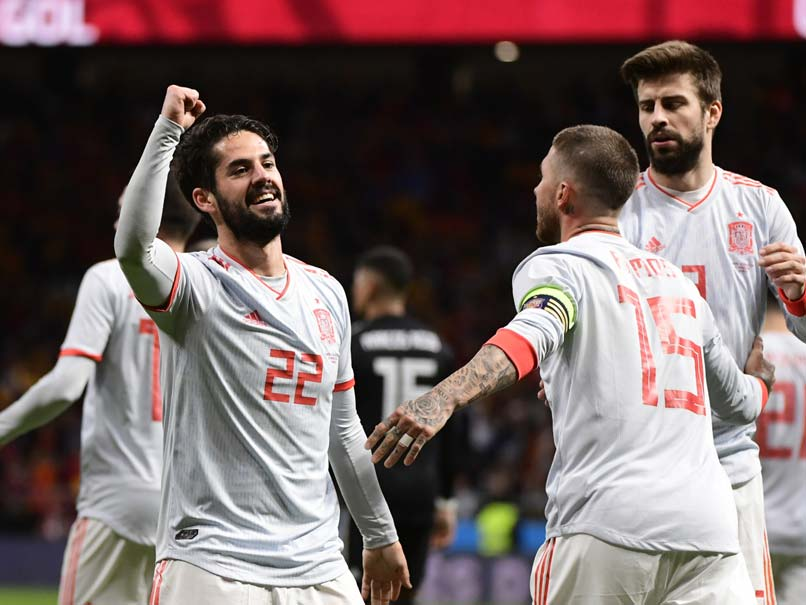 World Cup Hopefuls Spain Crush Argentina, Brazil Edge Germany