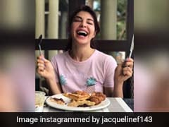 Jacqueline Fernandez's Mother Brought In A Sweet Easter Surprise For Her!