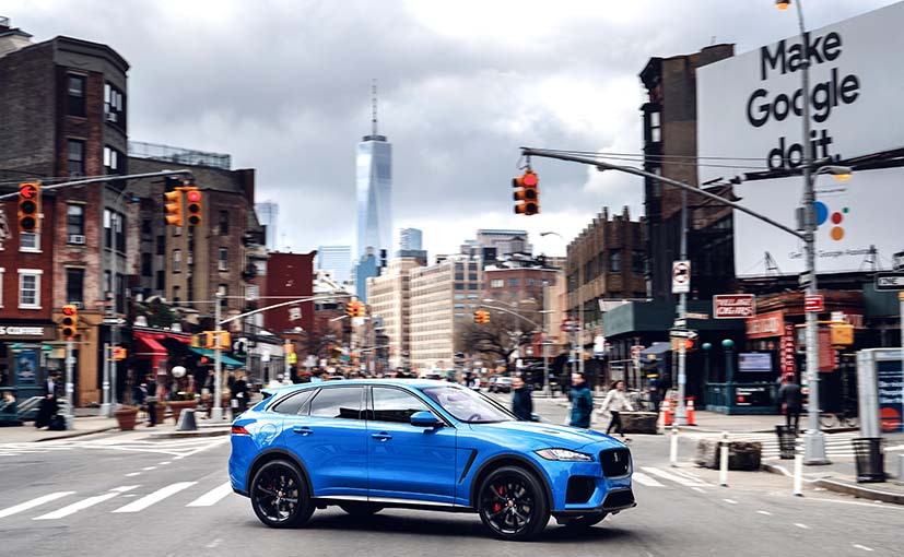 The new Jaguar F-Pace SVR has been engineered by JLR's Special Vehicle Operations (SVO) division