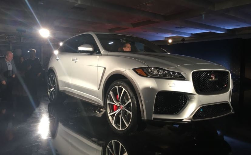 jaguar f pace svr revealed