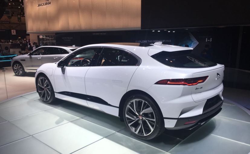 jaguar i pace at geneva 2018
