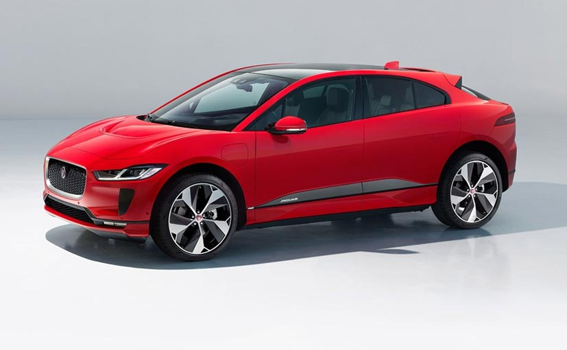 Jaguar I-PACE stalks Tesla Model X