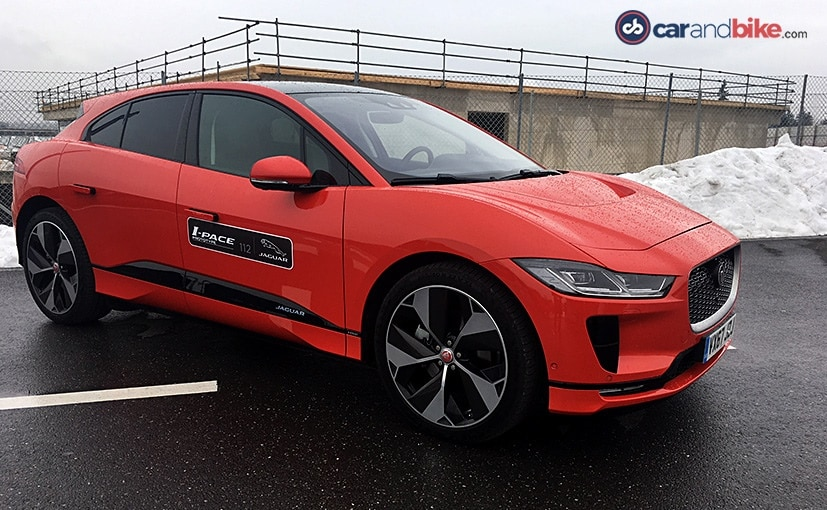 The I-Pace is Jaguar's first production electric model