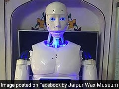 A Humanoid Robot Guide To Soon Welcome Visitors At Jaipur Wax Museum