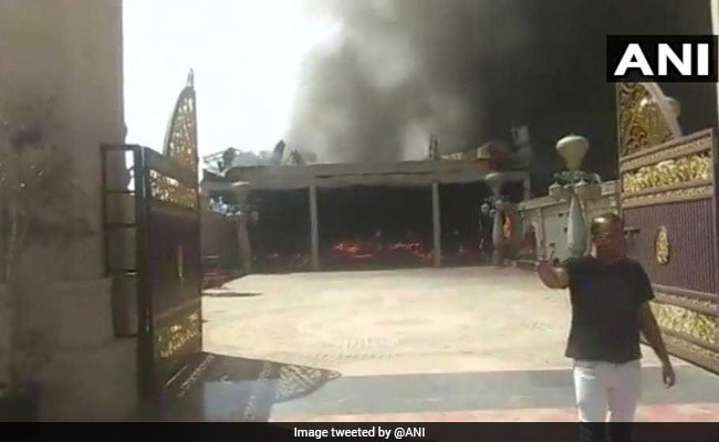 jaipur wedding hall fire