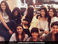 Inside Janhvi Kapoor's 21st Birthday Party With Sisters Sonam, Anshula, Shanaya, Khushi
