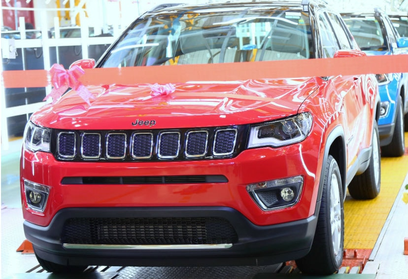 Jeep Compass Crosses 25,000 Production Milestone In India