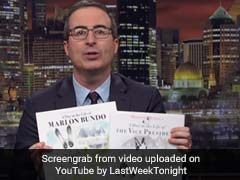 John Oliver Spoofs Book On US Vice President's Pet. It Stars A Gay Bunny