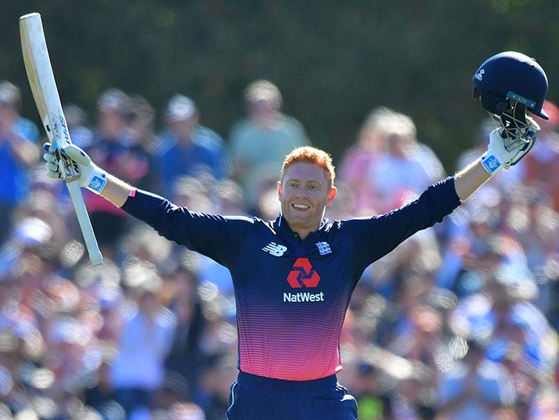 Jonny Bairstow ton helps England win series against New Zealand