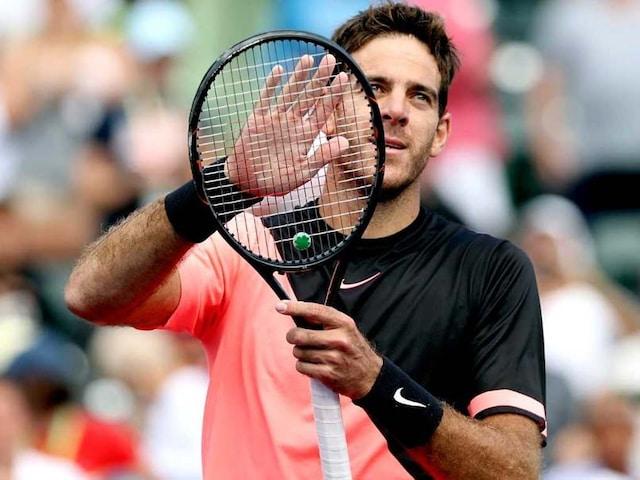 Miami Open: Juan Martin Del Potro, Milos Raonic Advance; Marin Cilic Ousted By John Isner