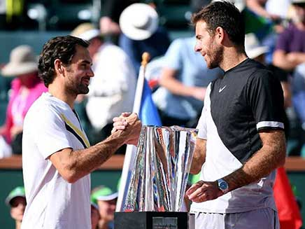 Juan Martin Del Potro Outlasts Roger Federer To Win Indian Wells Final