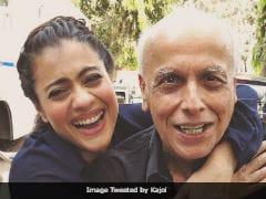 Kajol's Childlike Smile Is Back Thanks To Mahesh Bhatt. See Pics