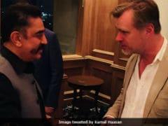 Kamal Haasan Meets <i>Dunkirk</i> Director Christopher Nolan. See Pics
