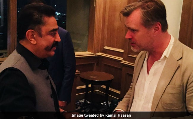 Kamal Haasan Meets Dunkirk Director Christopher Nolan. See Pics