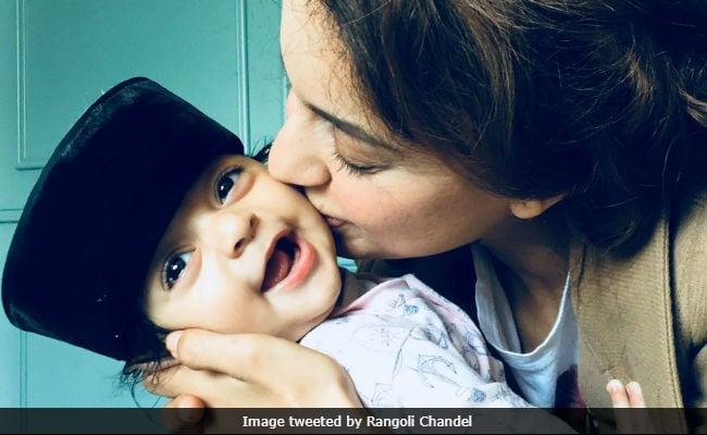 Viral: Kangana Ranaut Kisses Nephew Prithvi Raj In Adorable Pic