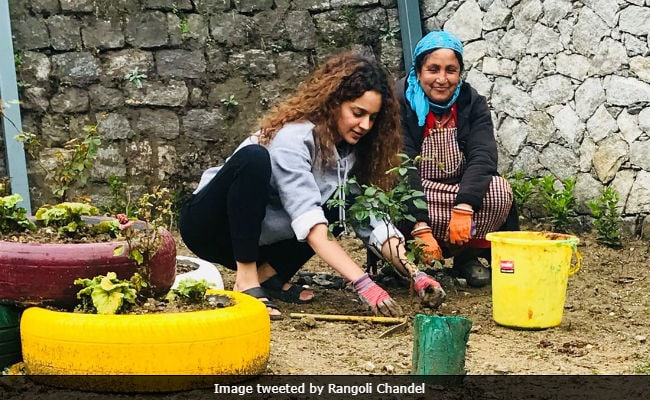 Inside Kangana Ranaut's Birthday Celebrations In Manali