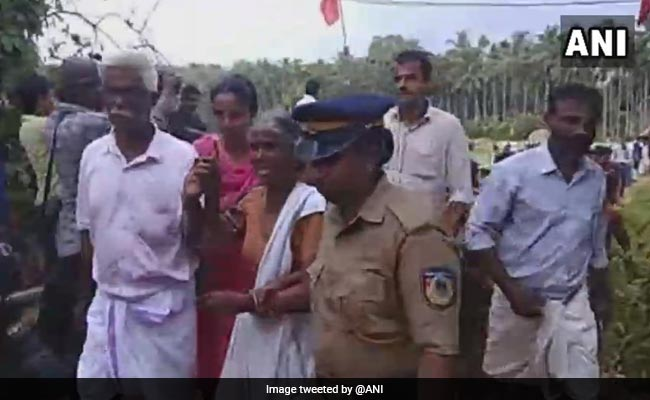 CPM Activists Allegedly Set Protesting Farmers' Tents On Fire In Kerala