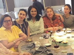 Another Day, Another Big Fat Kapoor Lunch With Kareena And Karisma