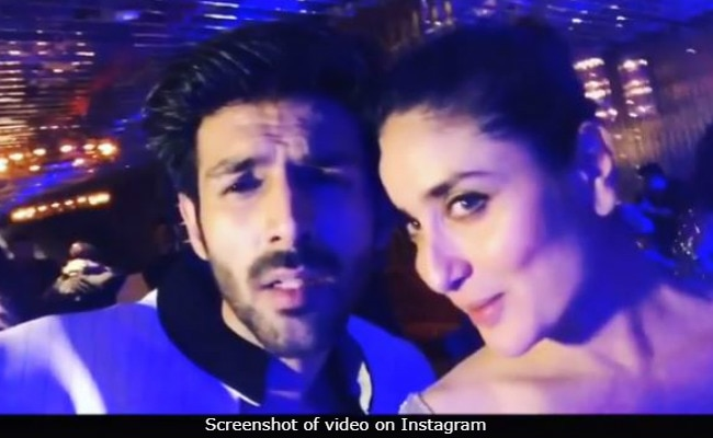 Kartik Aaryan Wants Kareena Kapoor To Be His 'Rani.' The Internet Outrages On Saif Ali Khan's Behalf