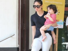 Kareena Kapoor And Son Taimur Go Grocery Shopping. Saif Joined Them Too