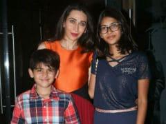 "Karisma Kapoor To Son Kiaan On His 8th Birthday: ""Reach For The Stars"""