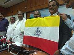 Karnataka Flag Issue Put On Hold Due To Poll Code, Says Centre
