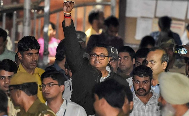 Karti Chidambaram produced in court; CBI seeks 14-day custody