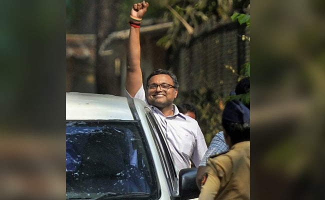 Karti Chidambaram, In CBI Custody, Challenges Fresh Summons In Supreme Court