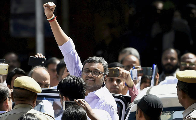 'Want To Lose Weight? Dial CBI': Karti Chidambaram After 12-Day Custody