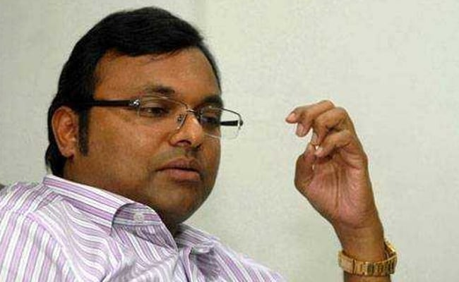 Karti's Chidambaram's Firms Received Rs 1.16-crore Bribe In Aircel-Maxis deal: Probe Agency
