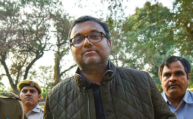 Karti Chidambaram Seeks Separate Cell In Tihar, Moves Court To Hear Bail Plea Today