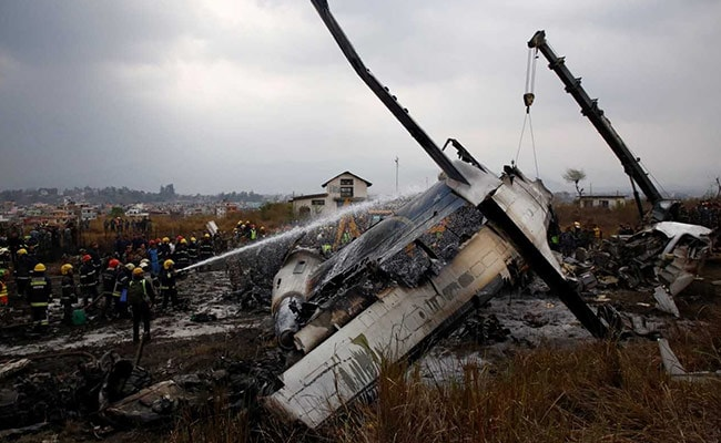 Bangladesh Plane Hit Kathmandu Airport Fence, Was 'Out Of Control'